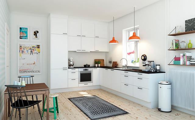 Køkkener   skandinavisk   køkken   other metro   af aubo køkken & bad