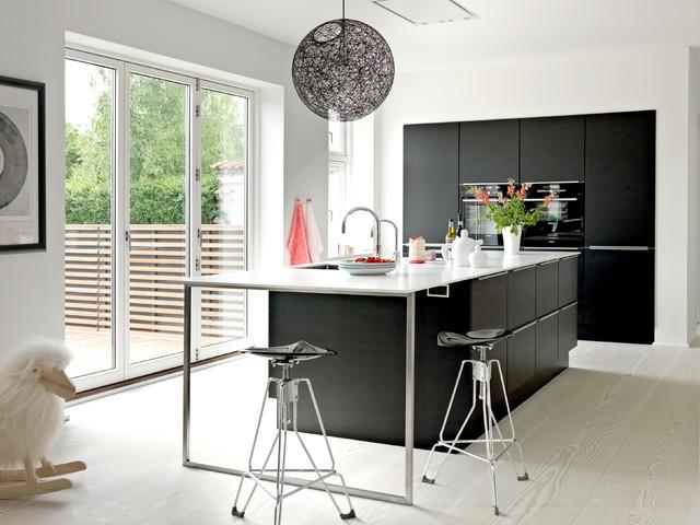 Moderne murermestervilla i roskilde   moderne   køkken   other ...