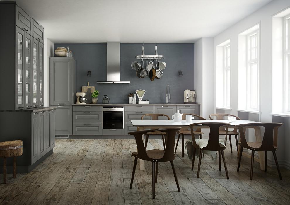 Exempel på ett skandinaviskt kök