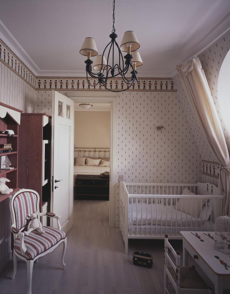 Nursery - traditional nursery idea in Moscow