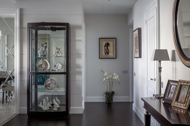Новые идеи обустройства дома: коридор в стиле современная классика