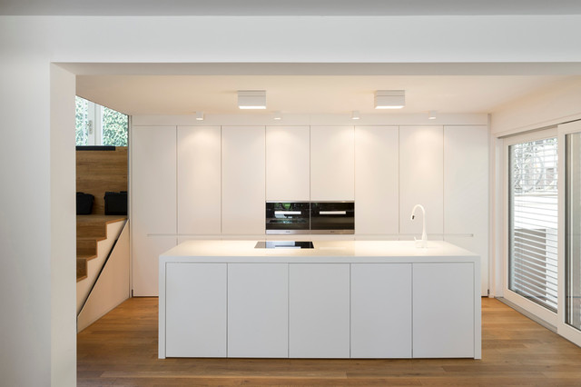 095 house b minimalistisch k che frankfurt am main for Cucine moderne 3x3