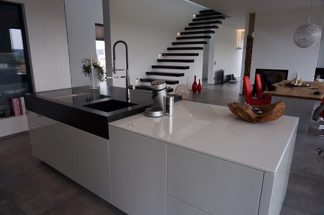 Küchentraum alno starline nero oxyd minimalistisch küche köln studio