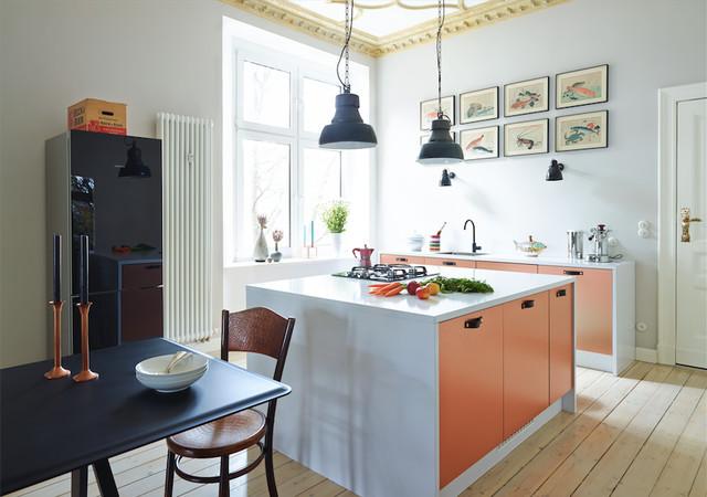 altbau berlin modern k che other metro von. Black Bedroom Furniture Sets. Home Design Ideas