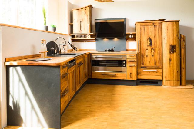 Rustikal küche  Altholzküche wild horses - Rustikal - Küche - Sonstige - von ...