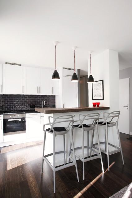 apartment berlin mitte modern k che other metro von susanne kaiser innenarchitektur berlin. Black Bedroom Furniture Sets. Home Design Ideas