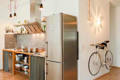 【Houzz】スポーツ用自転車を家の中に収納・保管する5つのアイデア 12番目の画像