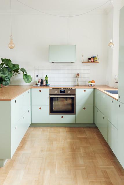 Küche Mintgrün basis01 pastell mintgrün