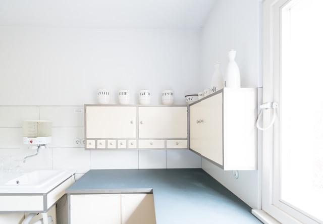 Bauhaus Haus Am Horn Weimar Moderne Cuisine Berlin Par - Cuisine bauhaus