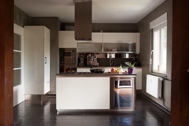 beton meets cortenstahl modern k che k ln von einwandfrei f r menschen die das. Black Bedroom Furniture Sets. Home Design Ideas