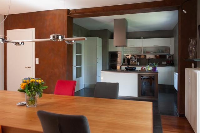 Beton Meets Cortenstahl - Modern - Küche - Köln - Von Einwandfrei