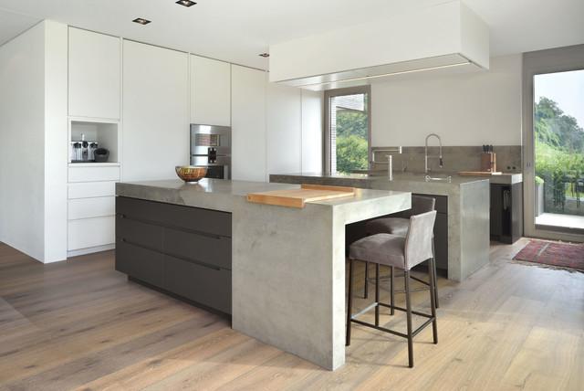 beton schichtstoff e minimalistisch k che m nchen. Black Bedroom Furniture Sets. Home Design Ideas