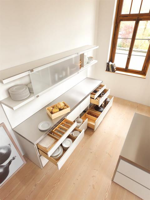 bulthaup b1 living space Old School House trendy-koekken