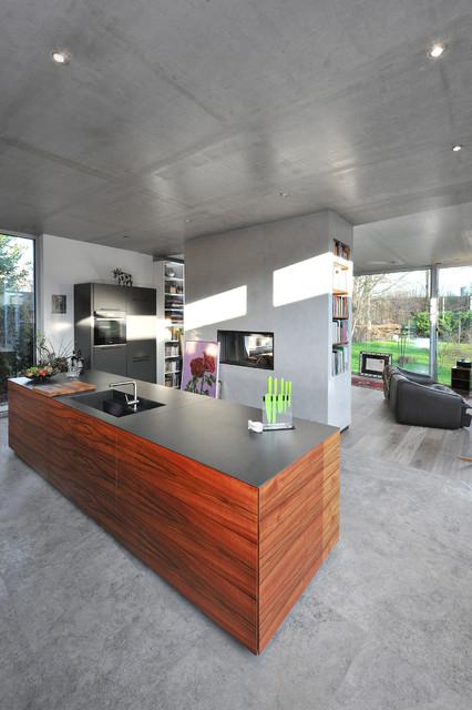 Architekten Spiekermann das atriumhaus modern küche hamburg architekten spiekermann