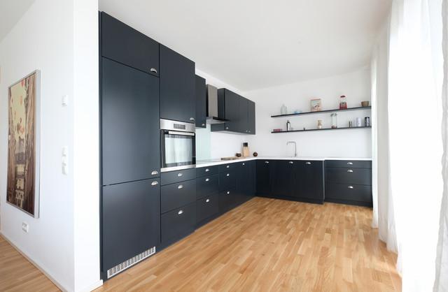Einbauküche in L-Form - Modern - Küche - Köln - von Tebbe ...