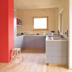 5 gelungene Kontraste zu hellem Holz