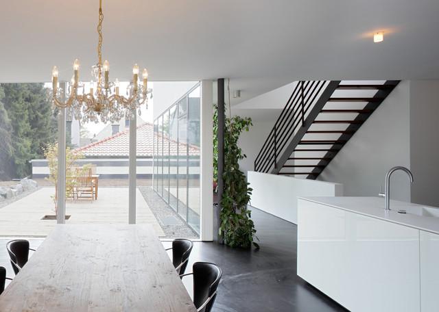 einfamilienwohnhaus in dortmund großbarop - modern - küche