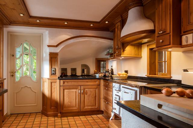 exklusive landhauskuechen ideen, exklusive landhausküche aus naturholz - rustic - kitchen - other, Design ideen