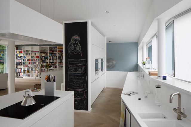 Falke Architekten Köln familienhaus köln marienburg contemporary kitchen cologne by