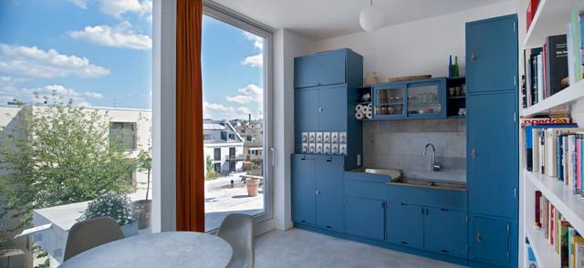 Frankfurter Küche im Dachgeschoss