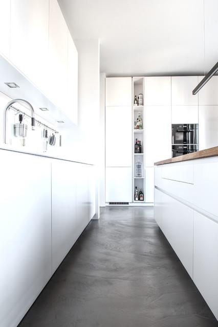 Fugenlose Wand Und Bodengestaltung Mit Beton Cire Microtopping