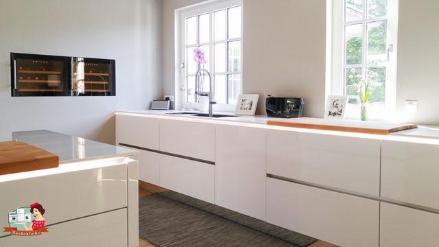 Grifflose Küche grifflose küche mit 12mm silestone arbeitsplatte modern küche