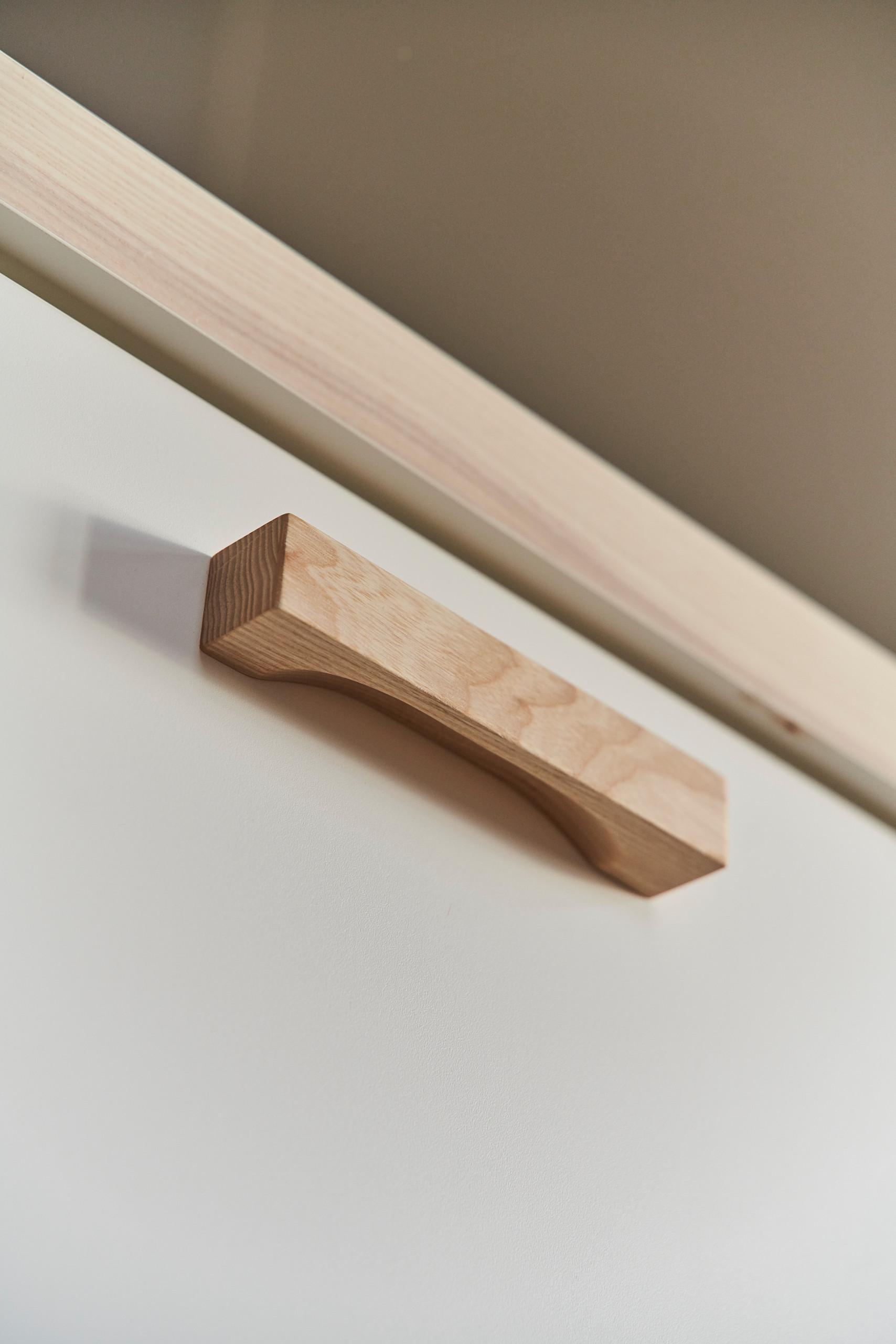 Handschmeichler Holzgriff Küche Schreinerarbeit