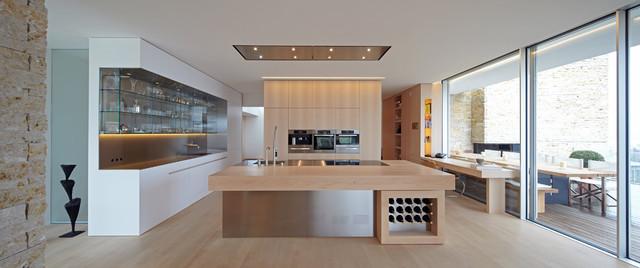 haus am see modern k che other metro von holzrausch. Black Bedroom Furniture Sets. Home Design Ideas