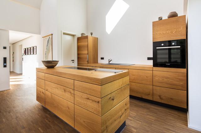 Küchenarbeitsplatte eiche massiv  10 Materialien für Küchenarbeitsplatten im Überblick