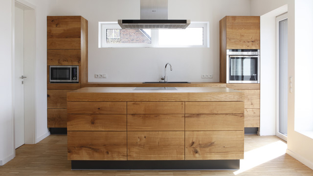 Haus bumb modern küche hamburg von christian stolz bauen