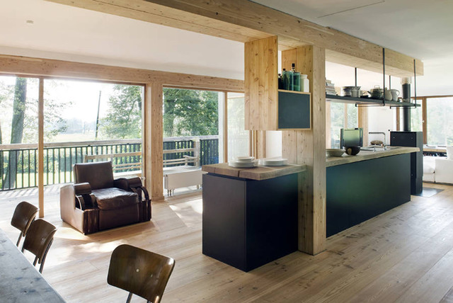 Haus crusoe contemporary kitchen munich by for Haus kitchens