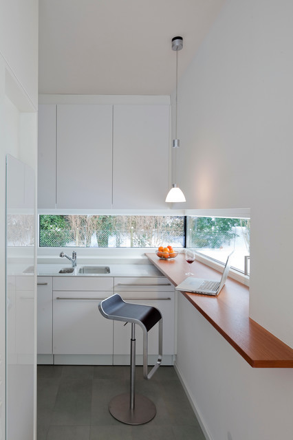 Haus k contemporary kitchen stuttgart by strauss for Haus kitchens