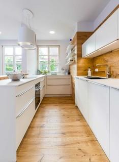 Küchen mit Rückwand aus Holz Ideen, Design & Bilder | Houzz