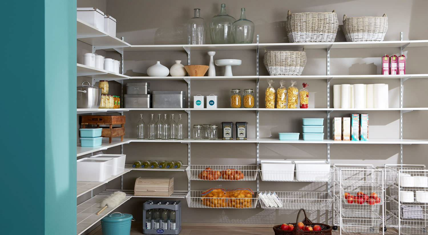 75 Beautiful Kitchen Pantry With Stainless Steel Cabinets Pictures