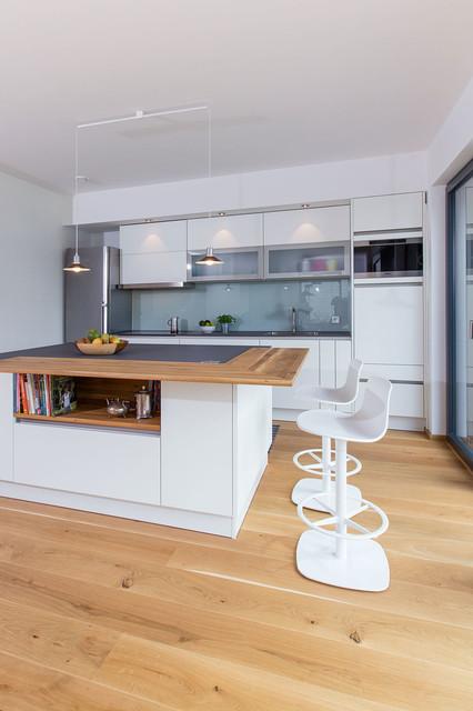 holzhaus modern k che sonstige von ku architekten. Black Bedroom Furniture Sets. Home Design Ideas