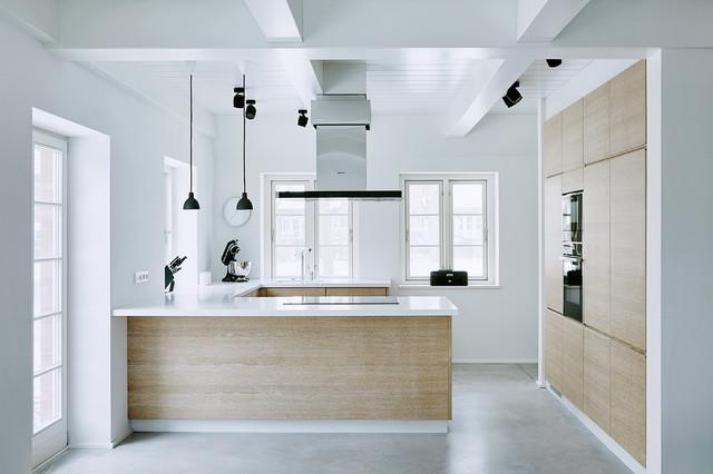 Ka2 neubau eines ferienwohnhauses modern k che for Friesenhaus modern einrichten