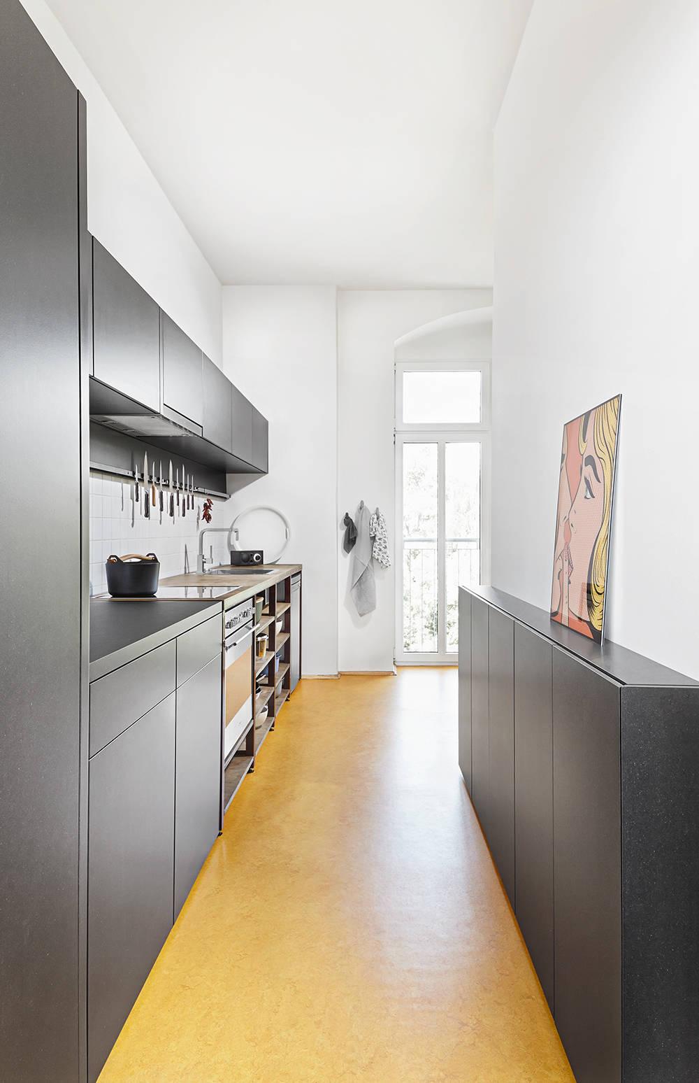 Narrow Kitchen Houzz