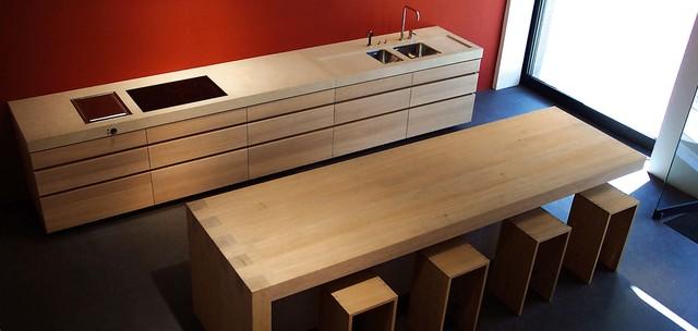k che eiche stein s contemporary kitchen munich by. Black Bedroom Furniture Sets. Home Design Ideas