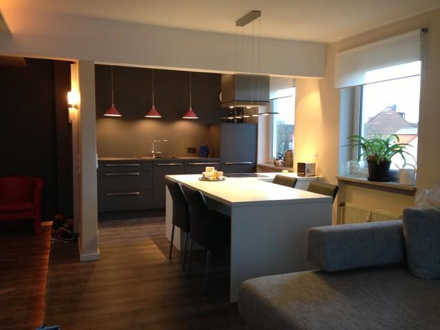 k che essbereich modern k che essen von. Black Bedroom Furniture Sets. Home Design Ideas