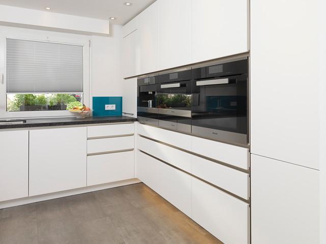 Küche in einem privathaus in essen modern kueche
