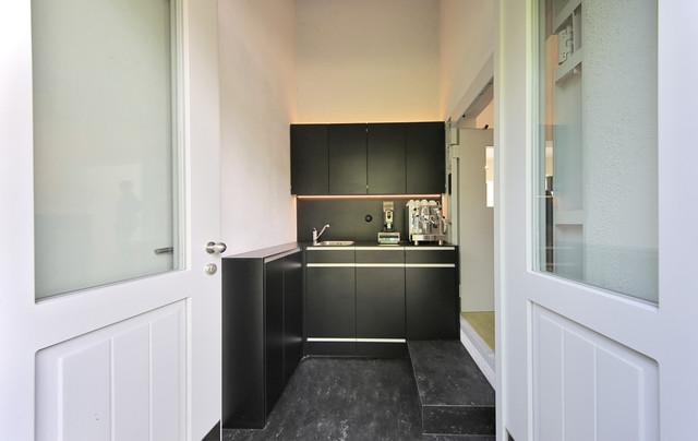 k che industrial kitchen munich by mensch raum. Black Bedroom Furniture Sets. Home Design Ideas