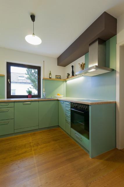 kuche mit schleiflackfronten traditional kitchen