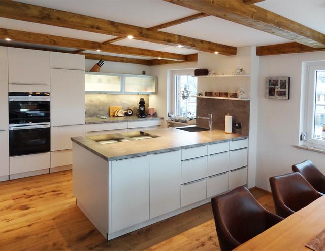 Küche weiß matt lackiert - Modern - Küche - Nürnberg - von ...
