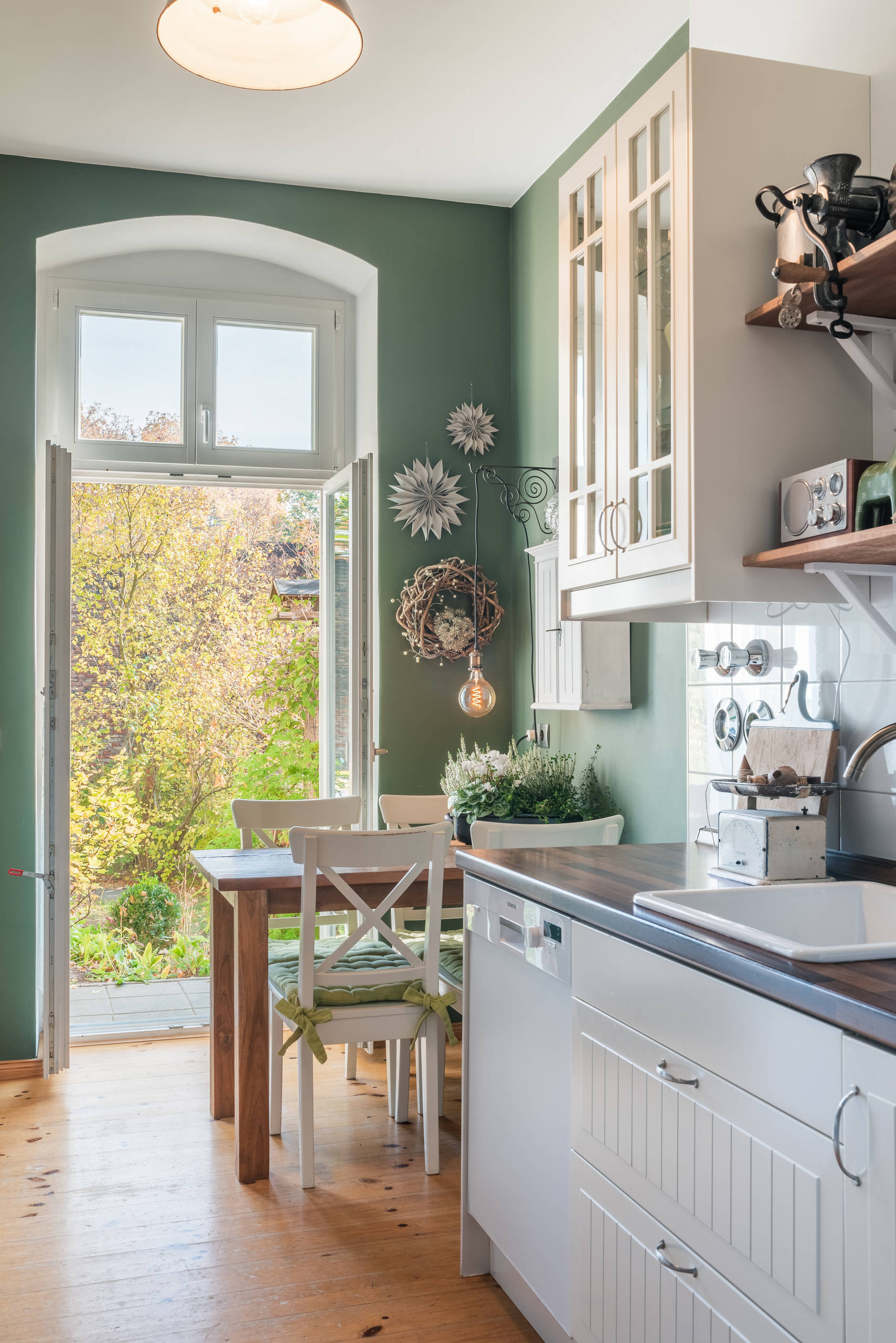 75 Beautiful Scandinavian Kitchen With A Drop In Sink Pictures