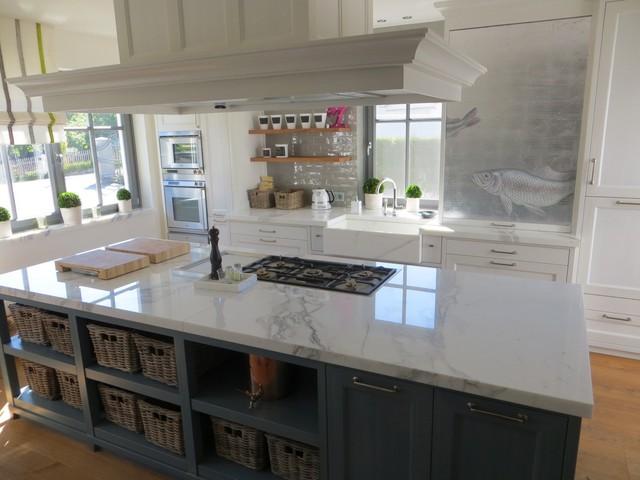Carrara Marmor Küchenplatte