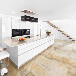 Küche Schwarz Weiß - Ideen & Bilder   HOUZZ