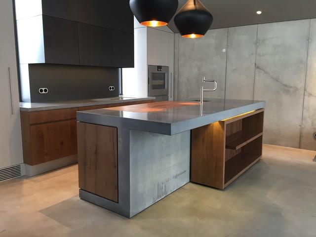 Gemauerte kuche modern