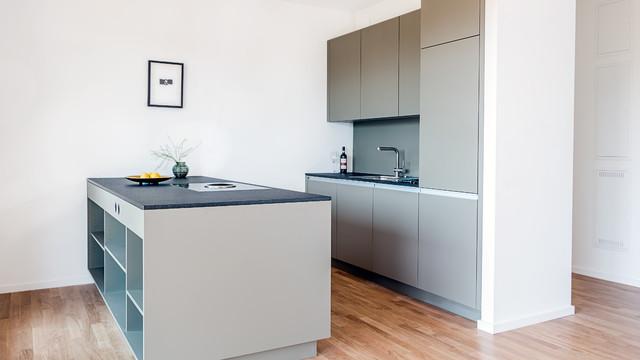 Kücheneinbau in Berlin - Contemporary - Kitchen - Berlin - by DER RAUM | {Kücheneinbau 0}