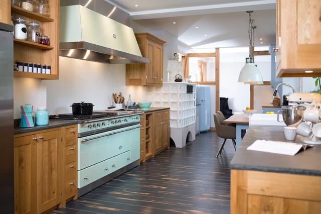 Landhausküche eiche farmhouse kitchen