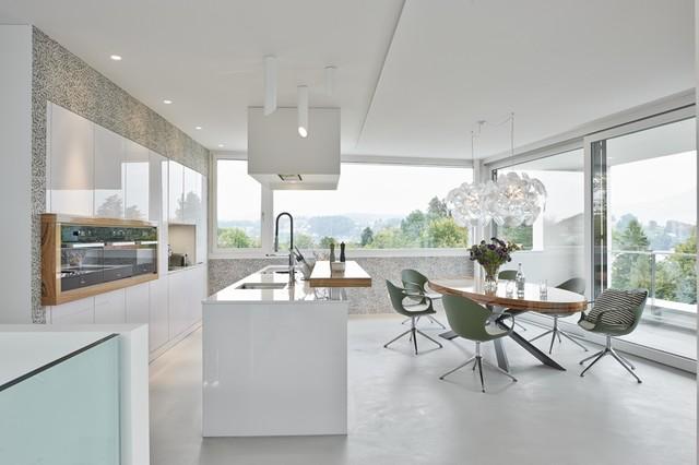 Hausbau Lichtplanung Modell : Lichtplanung haus i luzern modern küche sonstige von licht